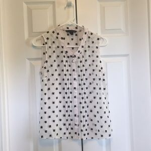 US Size 4 French Connection Sheer Top